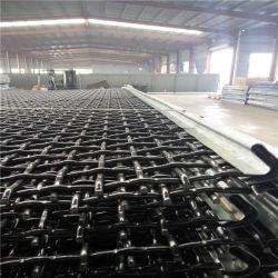 Centro de carbono de malla de alambre de acero engastado