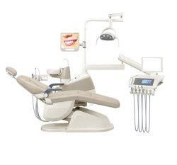 Rojo purpúreo Ce&FDA aprobó el sillón dental cuidado dental de descuento Descuento/suministros dentales/Dental Equipo