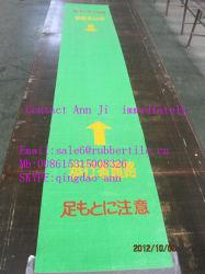 Antislip Groene het Leiden RubberMat Passway voor de Markt van Japan