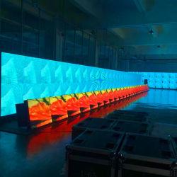 高品質のウォールスクリーン LED ディスプレイ P7.62 フルカラー屋内用