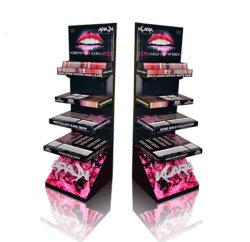 Compteur acrylique personnalisé de gros de produits cosmétiques Présentoir Matériel publicitaire Affichage maquillage
