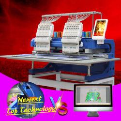 3 anos de garantia!!!2 Chefe Bordados Máquinas utilizadas Feliz Barudan Tajima Tfgn Hat Bordados bordados da máquina de venda de máquinas para venda no Japão Embro de computador