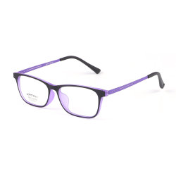 Comercio al por mayor gafas de óptica de titanio de caucho Unisex Gafas Anteojos Frame