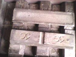 Aleación de plomo arsénico Alloy-Pbas- Pb Alloy-Pb Alloy-Pbas Master30- Pbas30/70-aleación a base de plomo- Material para la batería de plomo ácido
