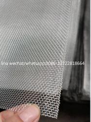 Proceso de electroforesis de malla de alambre de aluminio