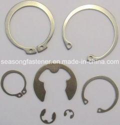 Anillo de acero inoxidable / anillo de retención (DIN471 / DIN472 / DIN6799)