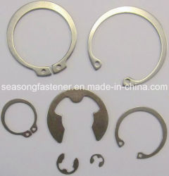En acier inoxydable / anneau de retenue de circlip (DIN471 / DIN472 / DIN6799)