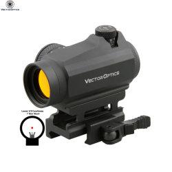 Lentes de vetor Maverick Gênios 1X22 Pistolas de tácticas militares armas Red Dot Sight âmbito com montagem Qd de espingarda de visão nocturna de caça