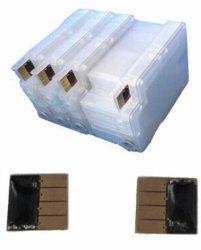 Refillable/CISS de Patronen van de Inkt voor HP711 voor T120/T520 voor PK Officejet 6100 6600 6700 met Spaander