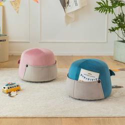 Li&Sung Design de Moda confortável crianças Fantasia fezes de animais de madeira