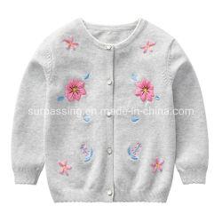 여자 아기 제품 아이들 형식 스웨터 여자 아기 기술 꽃 복장 아이 의류 아기 착용 의복 아이들의 의복 도매 아이 아이들 착용