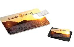 Рекламные материалы по кредитной карте диск USB в форме карты флэш-памяти USB (CMT-CC011)