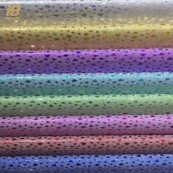 알루미늄 금속 가공 CPP 글리터 선물 포장 용지