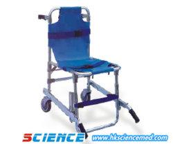 Tipo de cadeira dobrável maca para escadas (duas rodas)