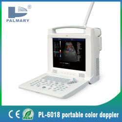 Scanner de ultra-som portátil Pl-6018 Equipamentos Médicos Doppler a cores