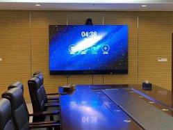 شاشات 4K التفاعلية 65 75 85 86 98 100 110 شاشة لمس كبيرة بحجم بوصة مراقبة غرفة المؤتمرات التفاعلية لـ غرفة اجتماعات أعمال