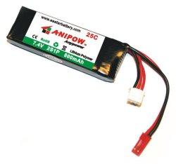 Faible prix de gros de la batterie au lithium 3,7 Volts Batterie Lipo