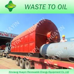 Les déchets de la machine de pyrolyse des pneus utilisés pour obtenir le pétrole brut/ noir de carbone (HY-1-10 tonne)