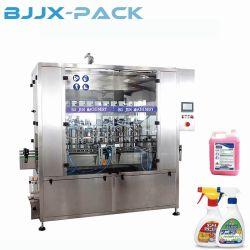 自動線形パッキング機械のためのピストンによって圧力をかけられる液体のプラスチックびんの食用の円滑油オイルの注入口の充填機械類