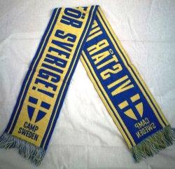 De gebreide de Term Sjaal van de Ventilators van het Voetbal van de Voetbal van de Jacquard