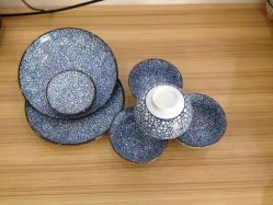 De Japanse en Koreaanse Reeks van het Porselein van de Kleur van het Restaurant