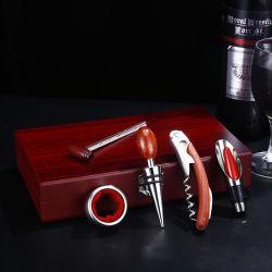 Regalo promocional conjunto abridor de botellas de vino sacacorchos