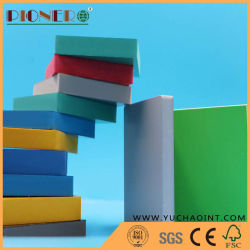 Colorida de la junta de espuma de PVC/hoja de impresión UV y firmar y Hardware 1-40mm