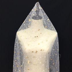 Qualitäts-Hochzeits-Kleid-Brautkleidersequin-Stickerei-Spitze-Gewebe