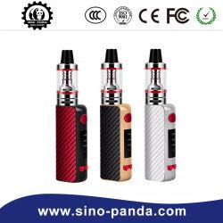 Fournisseur chinois P Box Kit vapeur énorme 50W E cigarette E Shisha Cigarett Rechargeable Vape Mod