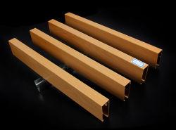 A China fez a decoração do Teto Acústico Títulos Teto WPC Board Folha de madeira de PVC de parede ou tecto