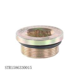 Оригинальные запасные части HOWO Sinotruk погрузчика масляного поддона заглушку отверстия для слива масла из Str1586330015