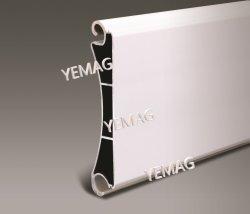 Perfil de aluminio extruido para la industria de la puerta de garaje puerta de persiana Roller