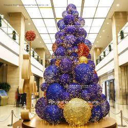 豪華でプログラム可能なLEDの照明のセリウムによって検査される商業クリスマスツリー