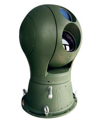 De elektro-optische Grens die van het Toezicht PTZ Thermische Camera controleren