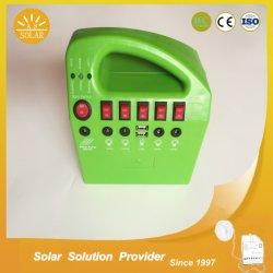 10W 15W ポータブル屋外ソーラーホームシステム太陽光発電システム