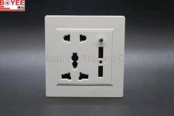 Zoccolo di potere elettronico della spina dei perni caldi di vendita 5 con il USB