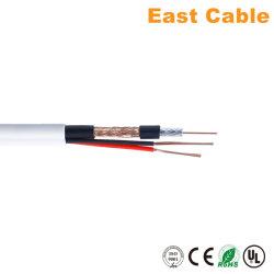 3 в 1 систем видеонаблюдения кабель RG59 + 2c коаксиальный кабель и кабель питания для систем видеонаблюдения