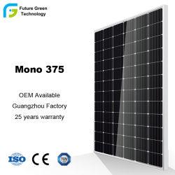 Haute efficacité 300W 350W 375W de puissance d'énergie solaire PV monocristallin panneau mono