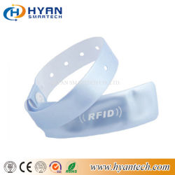 De beschikbare Manchet van pvc RFID van de Lange Waaier UHF voor Gezondheidszorg/Medisch/het Ziekenhuis