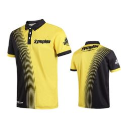Печать Sublmation рубашки поло индивидуального логотипа реклама спорт рубашки поло