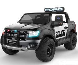 Il rapace 2019 del guardia forestale conceduto una licenza a scherza il giro elettrico dell'automobile sul giocattolo dell'automobile