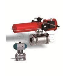 XD G 시리즈 스카치 요크 스프링 회송 공압 밸브 액추에이터