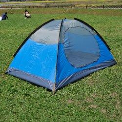 휴대용 경량 Backpacking 천막 2 사람 4 절기 방수 겹켜 큰 공간 옥외 가족 야영 난조를 위한 알루미늄 로드 독립 구조로 서있는 천막