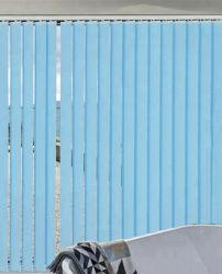 Poliéster persianas verticales manual o motorizado que metálicos