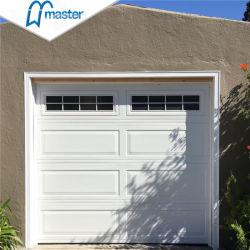Commerce de gros blanc Portes de garage sectionnelles résidentielles avec Windows