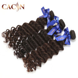 Envío gratis a Kinky Curly brasileño profunda ola de la ciudad de Afro el cabello humano Virgen 3pcs