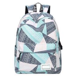 Zainhi geometrici di corsa di Daypack Bookbags del sacchetto di spalla delle donne dei sacchetti dell'istituto universitario del reticolo di modo per uso degli allievi di anni dell'adolescenza