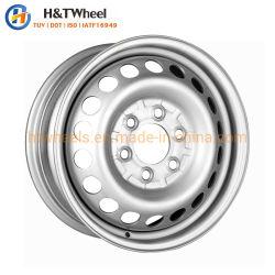 H&T 휠 665c01f-S 16인치 16X6.0 PCD 5X130 은 페인팅 트럭 강철 휠 림