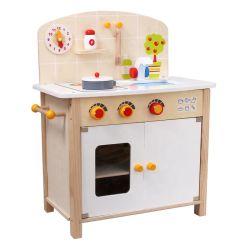 Venda quente Custom Toddler fingir cozinhando fingir Role Play Set Kids Brinquedos de cozinha de madeira