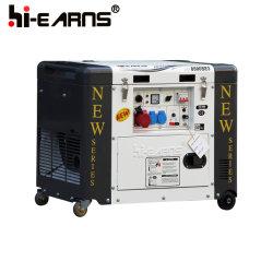 6 квт 50Гц низкий уровень шума Silent типа дизельных генераторных установках (DG8500SE3) цена